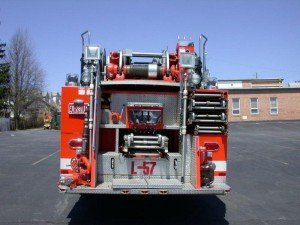 Ground Ladder Compliments on Aerial Apparatus