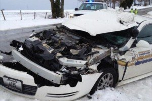 FD & PD COLLIDE ON ICE IN MO
