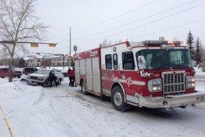 APPARATUS CRASH IN CANADA