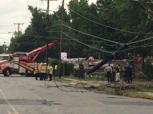 4 firefighters taken to hospitals after fire truck crashes in Alexandria