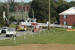 KY FF SUFFERED BURNS OVER 50% OF HIS BODY IN AERIAL MISHAP