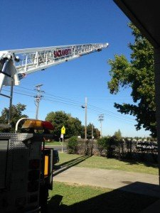 CA AERIAL LADDER INTO POWER LINES DURING DAILY CHECKS
