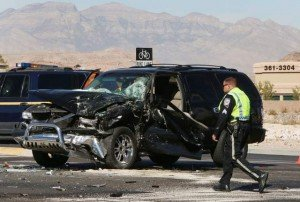 APPARATUS CRASH IN CLARK CO. NV – 4 INJURED