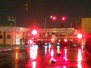 LADDER CRASH IN SPRINGFIELD, MA