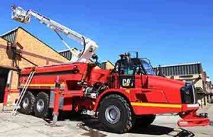 NEW TYPE OF FIRE APPARATUS IN SOUTH AFRICA