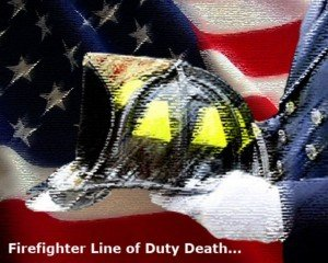 FIREFIGHTER STRUCK AND KILLED BY FIRE APPARATUS
