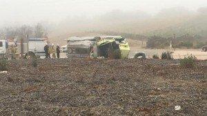CALIFORNIA FIREFIGHTER KILLED IN APPARATUS CRASH