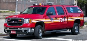 MAN STEALS FDNY SUPERVISORS VEHICLE – BUT DOESN'T MAKE IT FAR