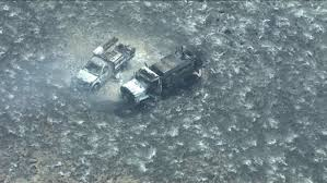 2 wildland rigs burn up at fire in UTAH