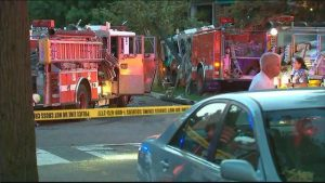8 DC firefighters hurt when 2 fire trucks collide while responding to fire in Southeast DC
