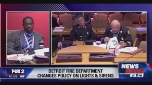 "DETROIT FD QUESTIONED OVER ""EASY"" RESPONSE POLICY"