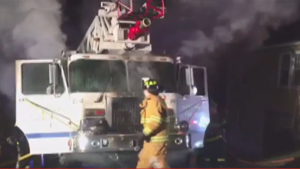 APPARATUS FIRE IN PA
